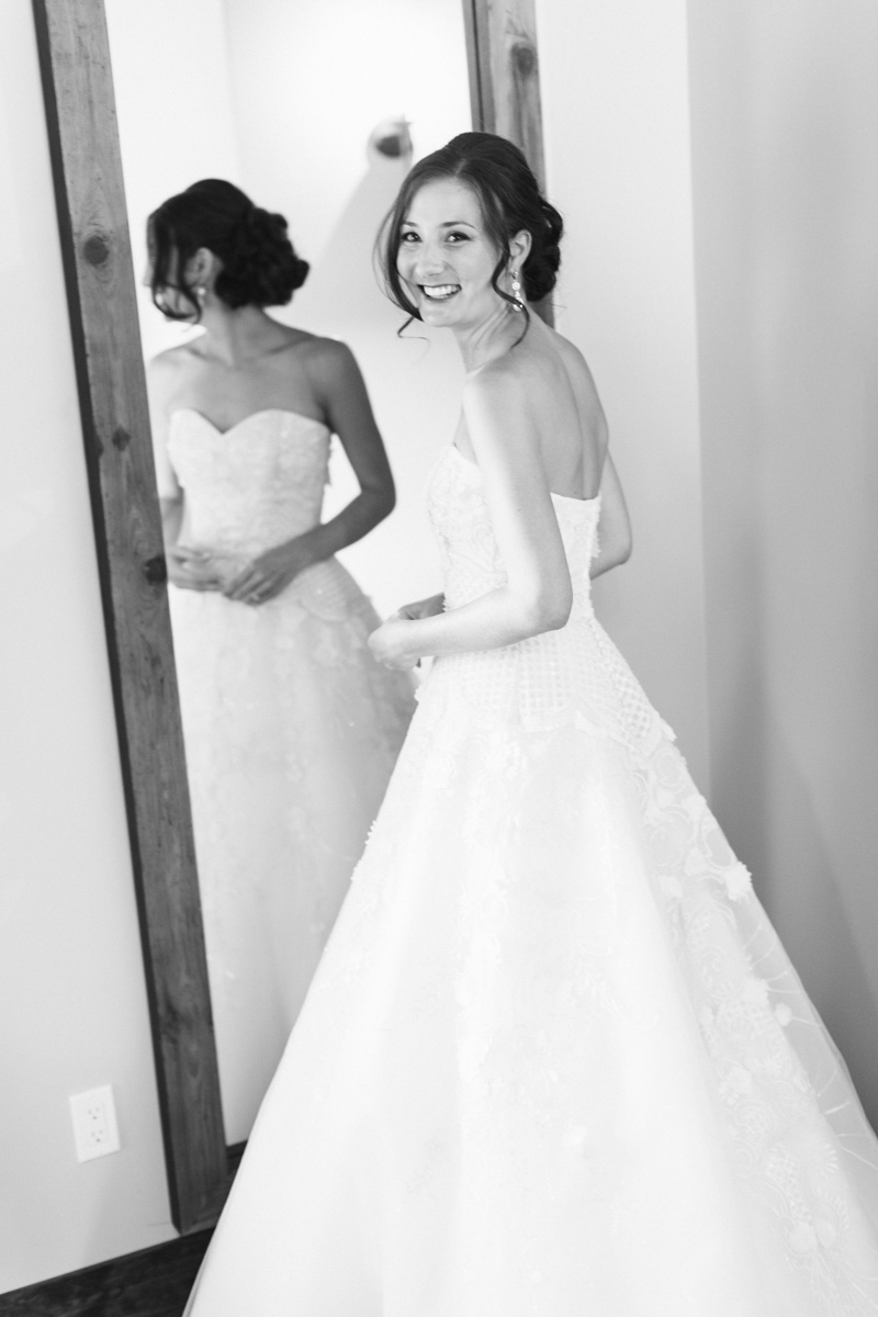 Greengate Ranch Wedding Bride in her gown (1 of 2)