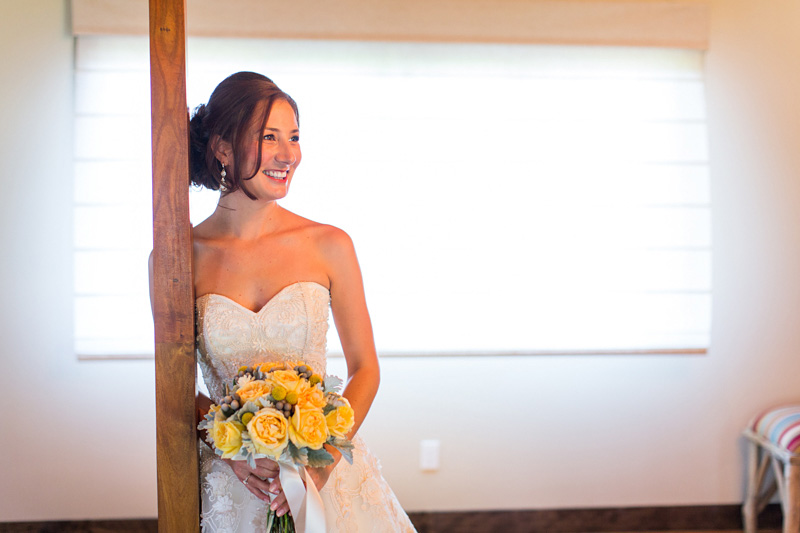 Greengate Ranch Wedding Bride in her gown (2 of 2)