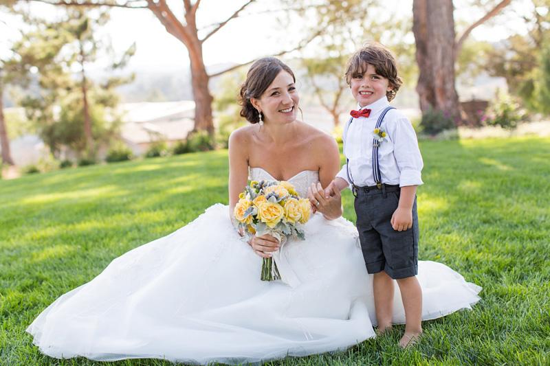 Greengate Ranch Wedding Bride and Ring Bear