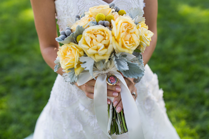 Greengate Ranch Wedding bridal bouquet by Adornments Flowers and Finery