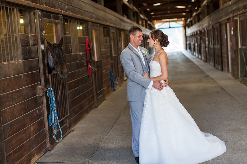 Greengate Ranch Wedding Bride and Groom in the barn (4 of 4)