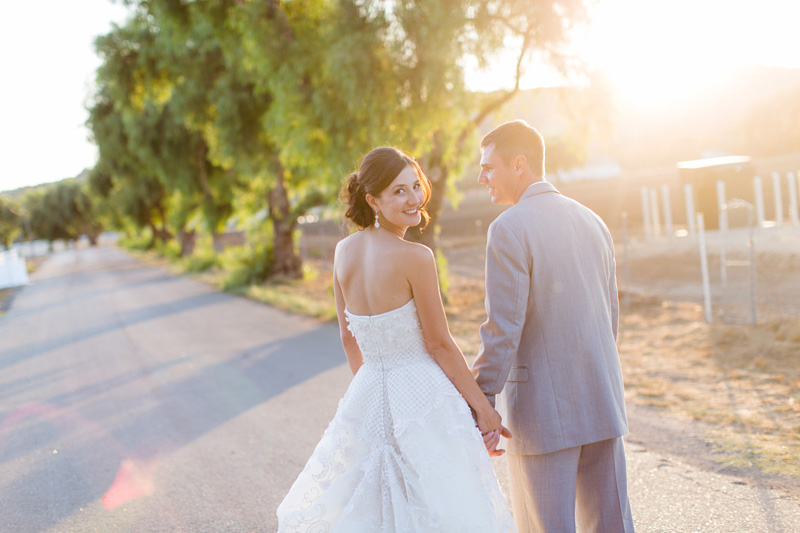 Greengate Ranch Wedding Bride and Groom sunset photos (1 of 7)