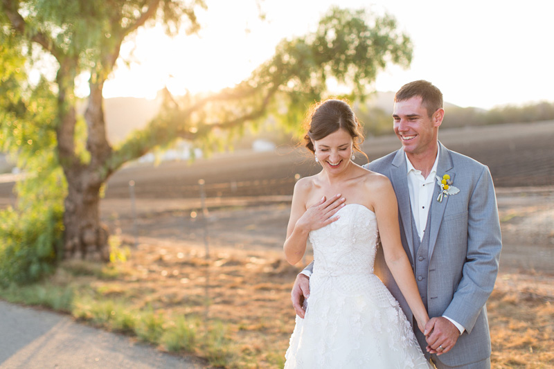 Greengate Ranch Wedding Bride and Groom sunset photos (3 of 7)