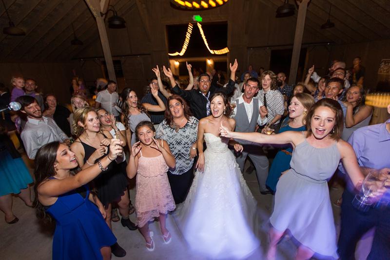Greengate Ranch Wedding Bride dancing (2 of 4)