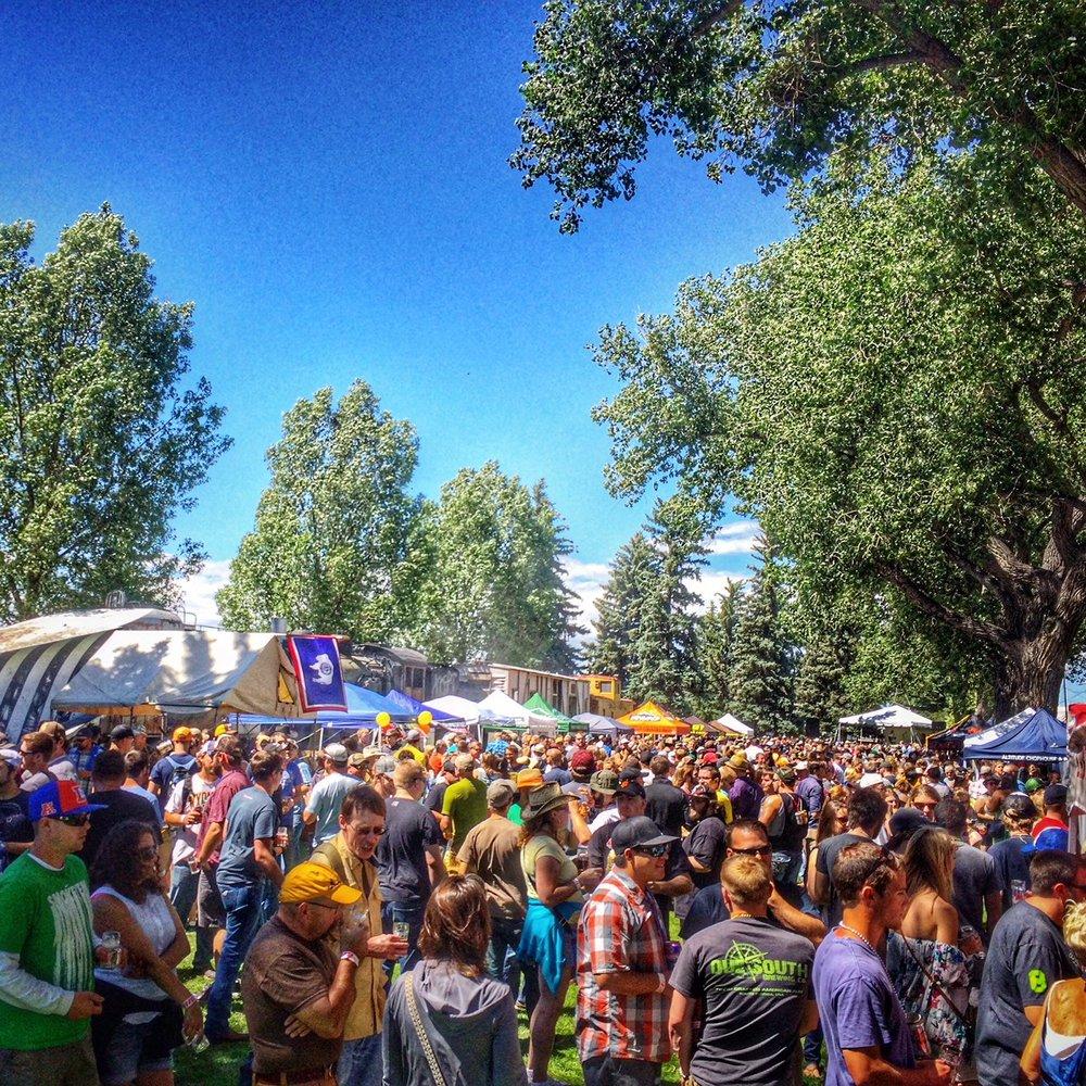 Laramie brewfest - July 14
