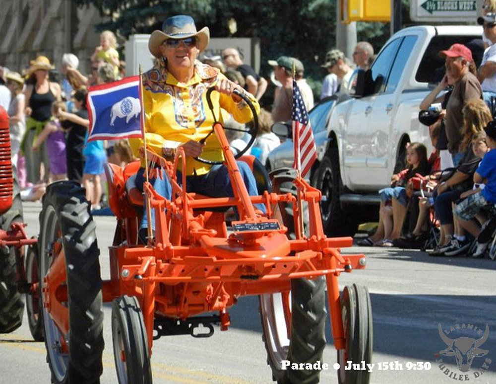 laramie jubilee days - July 7 - 15