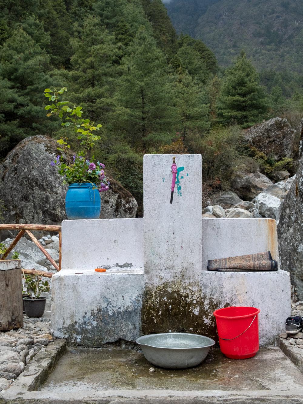 Public water supply, Bengkar, Nepal.