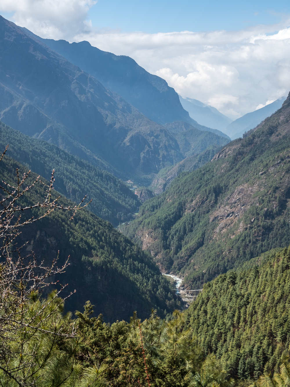 Dudh Kosi River, Nepal.