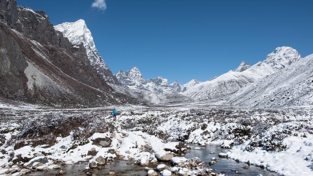 North of Pheriche, Nepal.