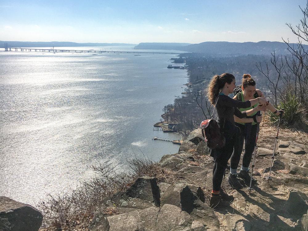 PUBLIC TRANSIT SERIES #10 - Hook Mountain, Nyack, New York