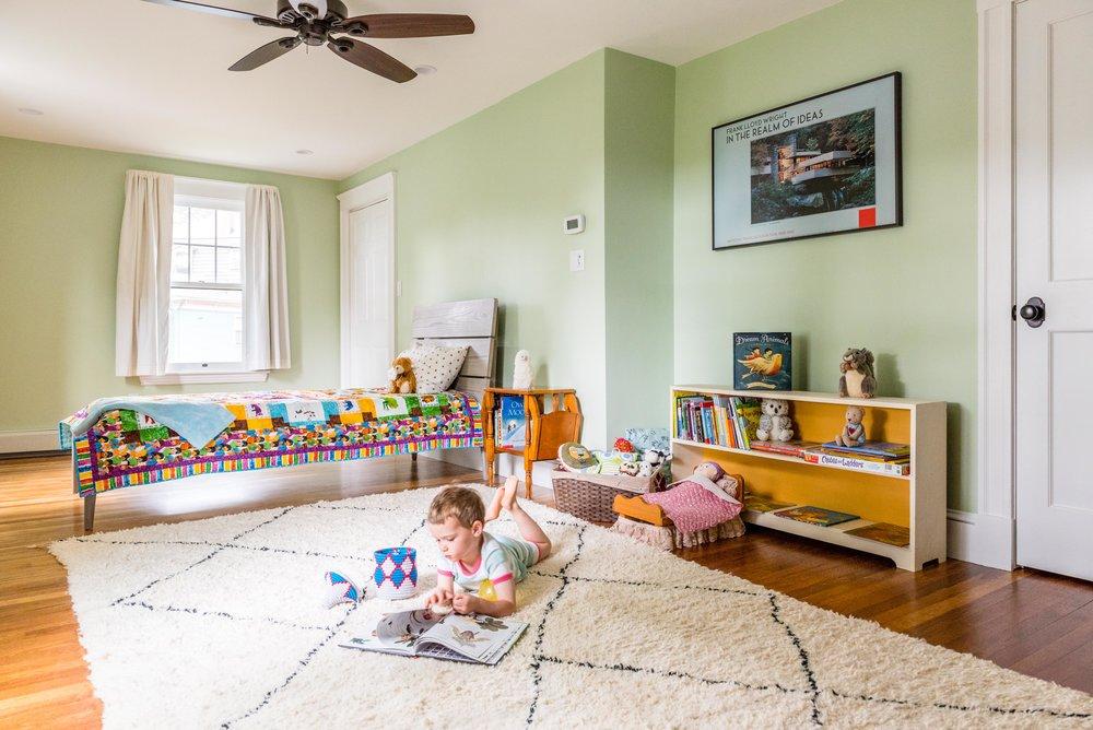 After: Kids' room