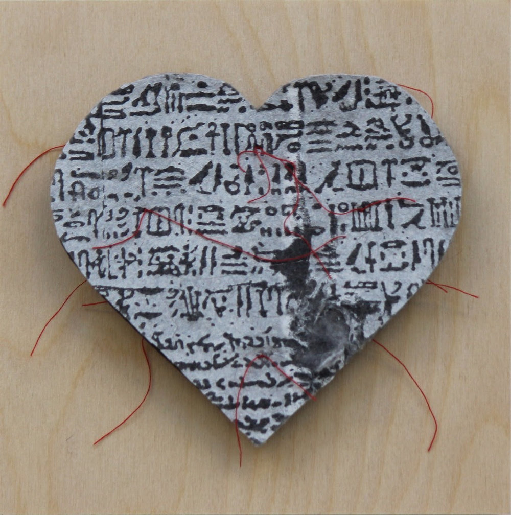 Gordana Olujic Dosic, Rosetta Heart, 2017, mixed-media.jpg
