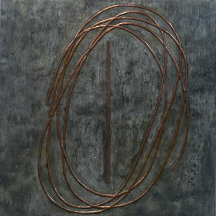 CROSSINGS No.5- copper tin pine plywood and aluminum-2013.jpg