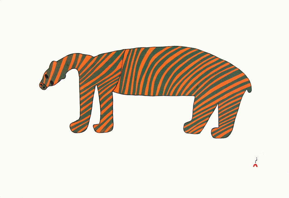 18. STRIPED BEAR