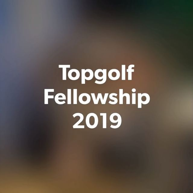 Swipe left 👈🏿Topgolf Fellowship 2019! Stay tune for our next event!