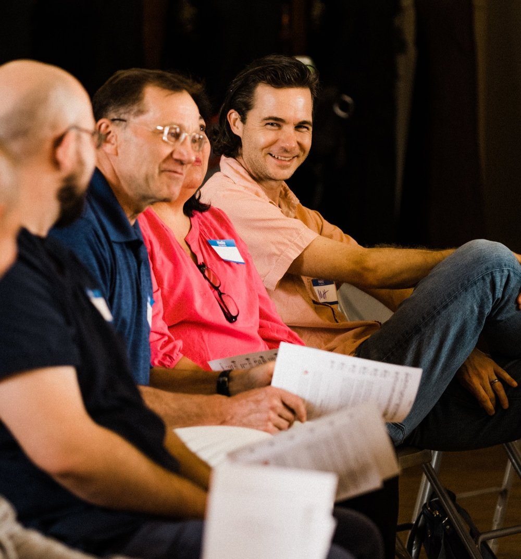 Matt H. (right), Trustee