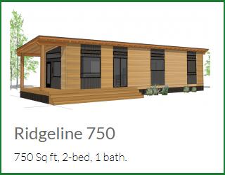 Ridgeline 750, Best Prefab Cabins