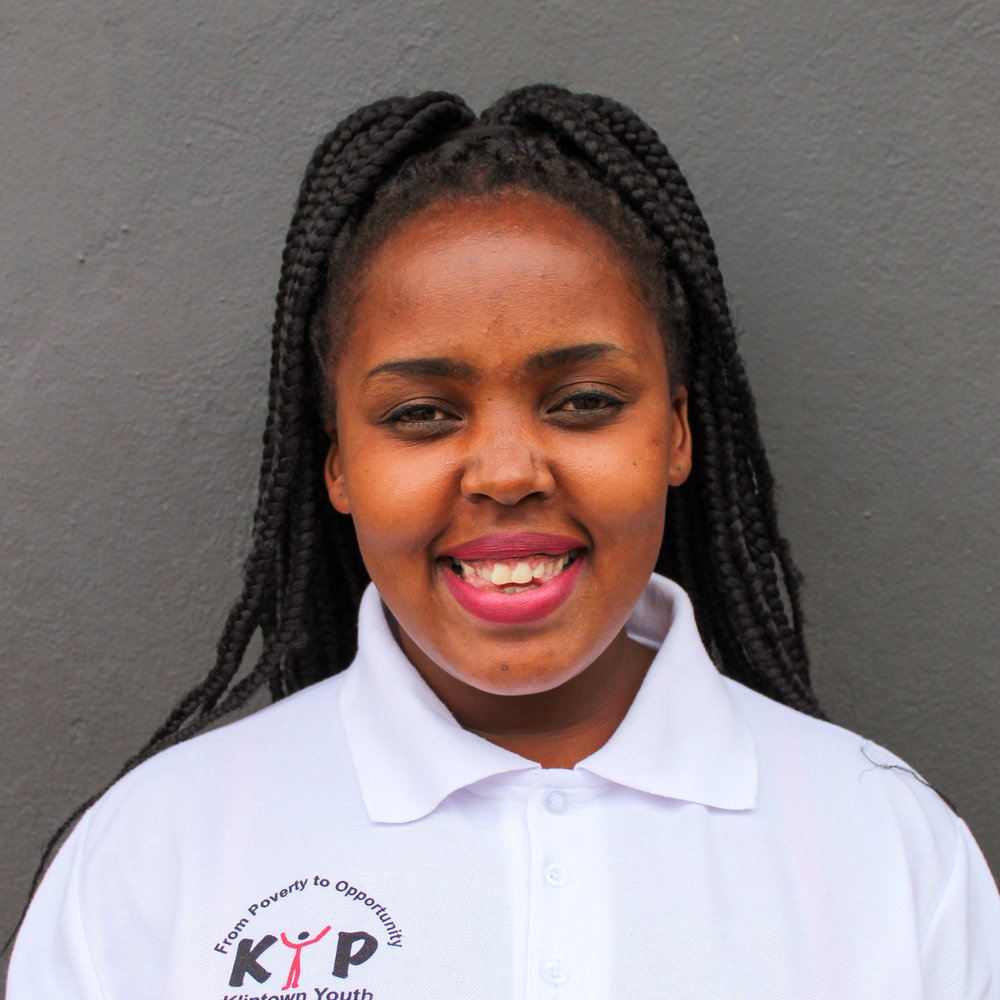 Basetsana Lokwane: Assistant Financial Manager    blokwane@kliptowwnyouthprogram.org.za   Basetsana was a KYP student and graduated secondary school in 2007.Her interest in Finance lead her to study a course in Financial Management at Imsimbi Training. She completed a computer course in 2008 at Ipelegeng Community Center. She serves KYP as a Financial Assistant manager and a dance teacher.