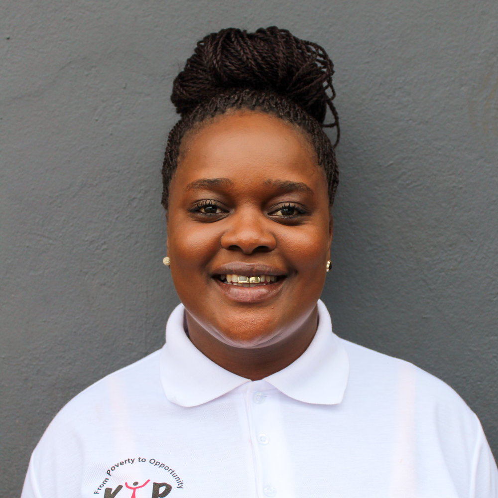 "Thulisiwe Simango: Assistant Food Program Coordinator    tsimango@kliptownyouthprogram.org.za   Thulisiwe is KYP's netball coach, a grade 3 tutor, and assists in the kitchen. She coaches both the under 19 and under 15 netball teams. She completed her grade 12 in year 2004, completed a course in MS Office in 2006,upholstery in the year 2007, and also attended number of training's through KYP, such as First Aid with Red Cross, coaching with Altus Sports, and ""Investment in Excellence"" with Edcon."