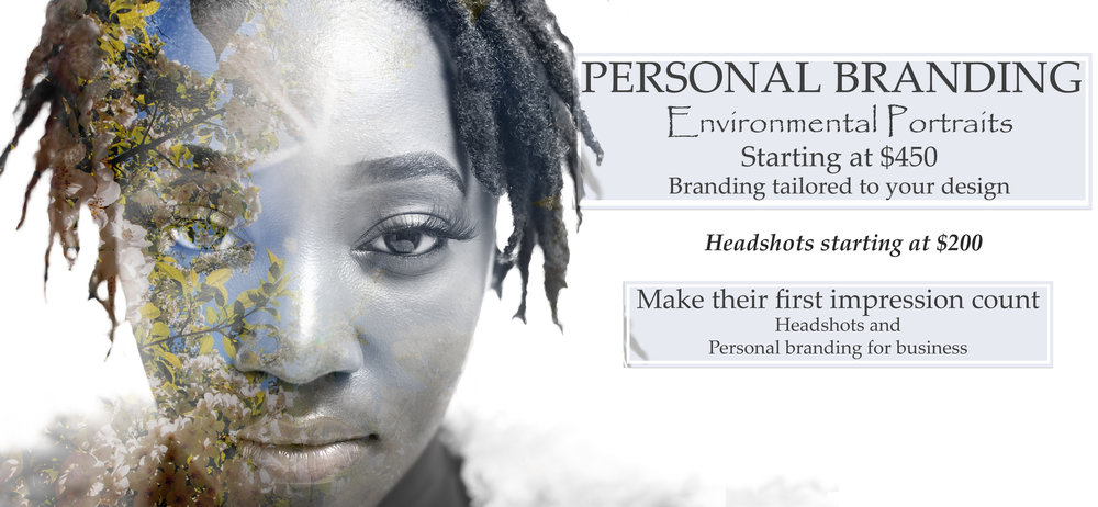 Personal Branding sessions include head-shots and environmental portraits starting at $300. head-shots alone are $200.