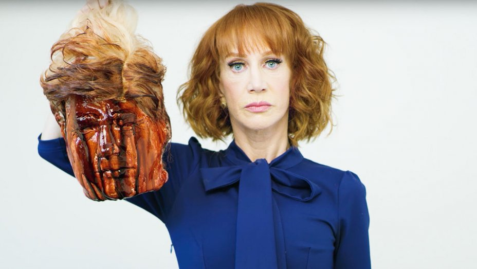 Kathy Griffin's Photoshoot with the President