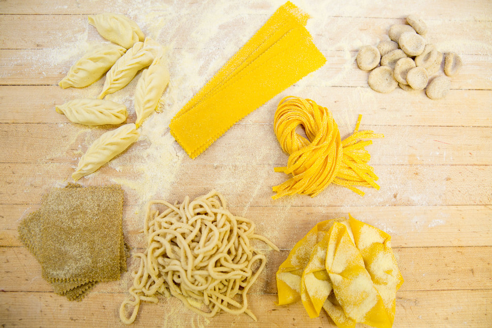 PASTA MAKING CLASSEnjoy a pasta making class for 1-4 people that includes making the pasta and then eating it with different sauces included. -