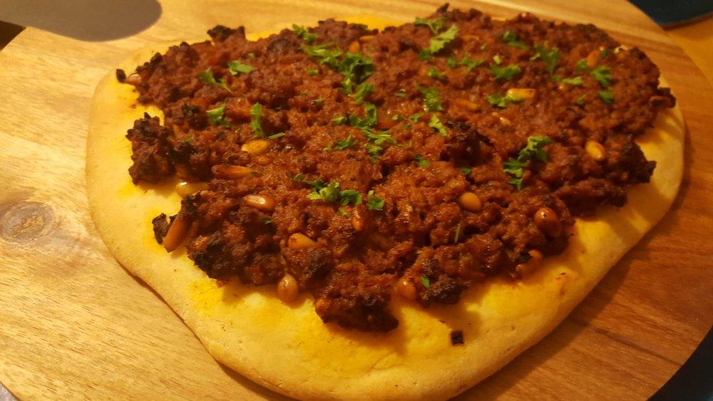 TURKISH LAMB PIZZA