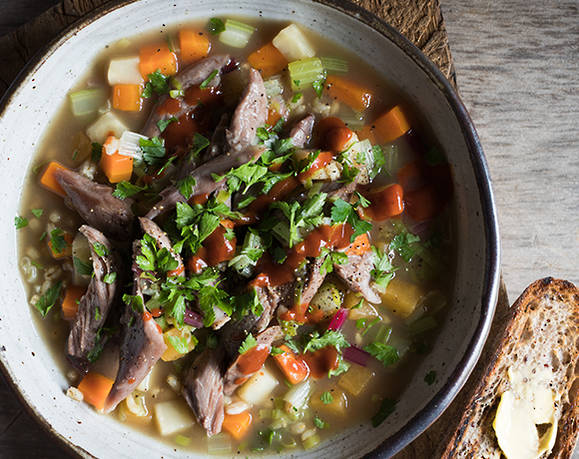 LAMB SHANK BROTH