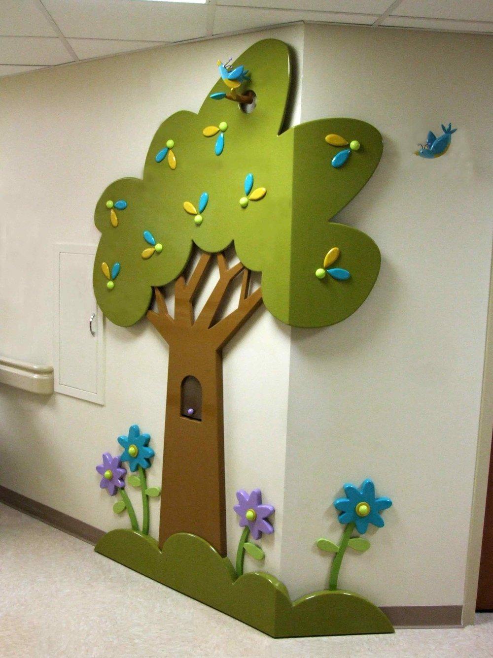 Garden Vignette installation