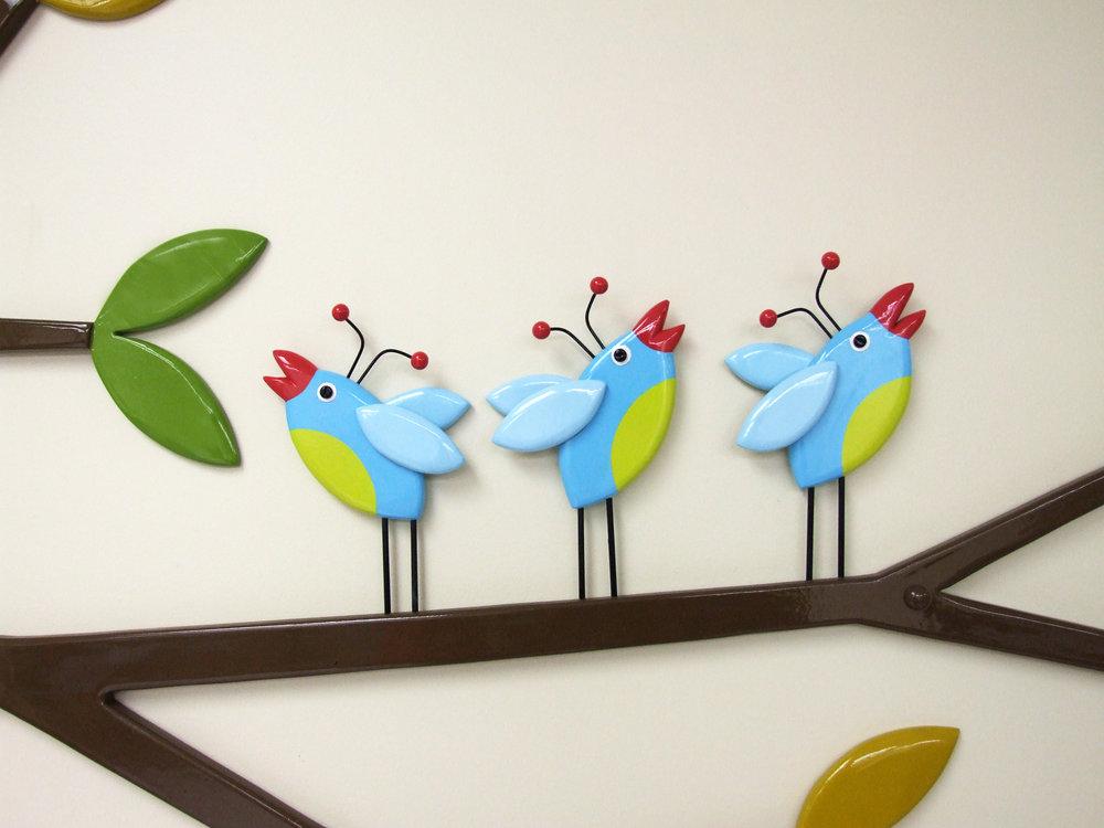 Bluebird Family detail 4