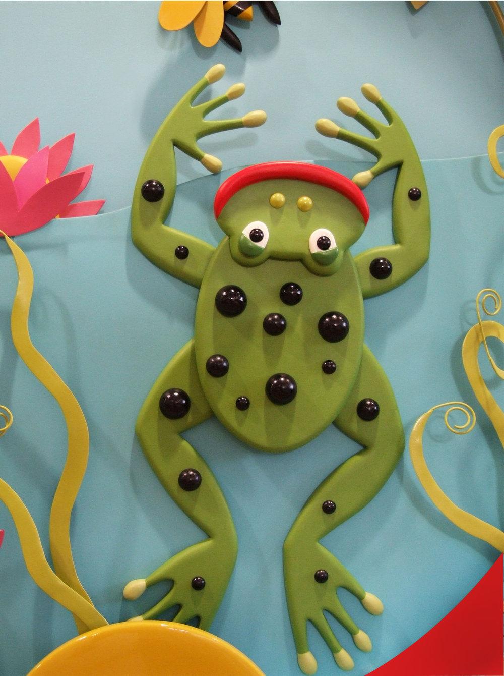 Happy Hands detail 2 - frog