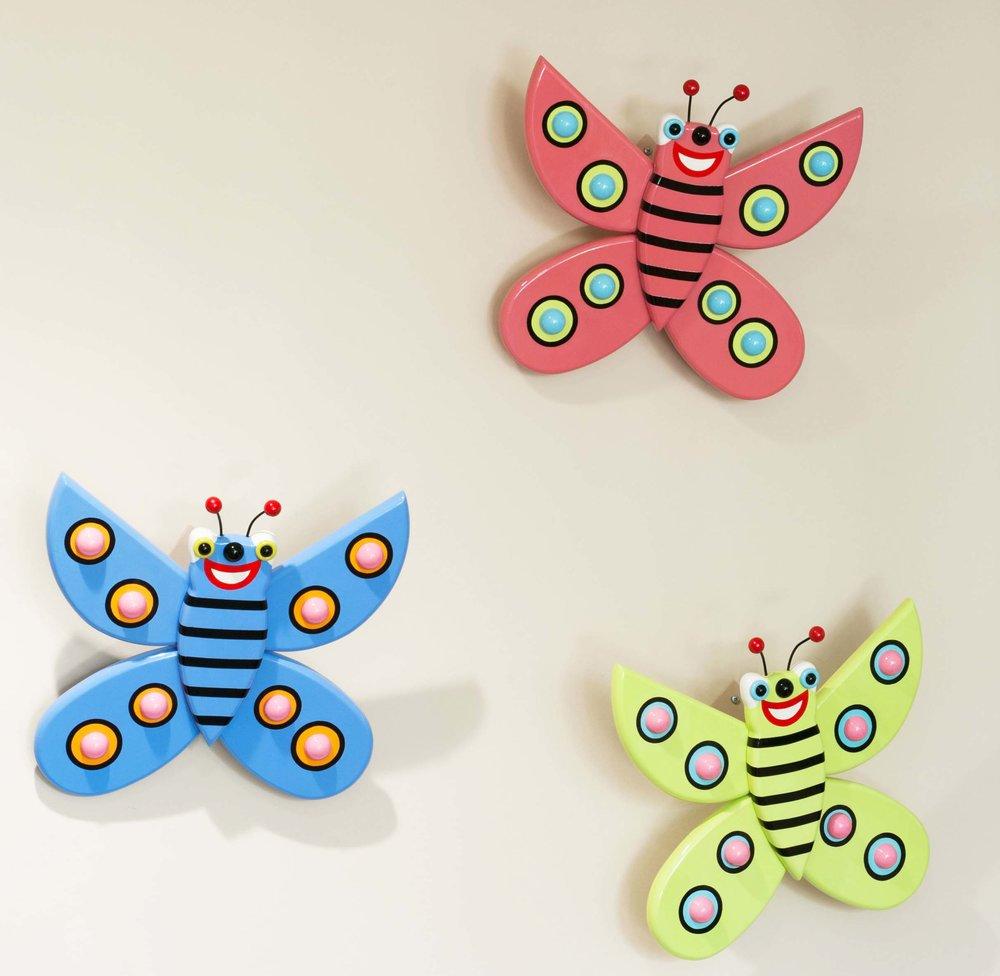 Happy Hands detail 4 - butterflies