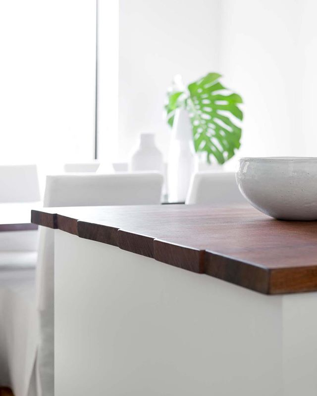 All in the details... Sapele countertops with sawn ends. #TBHCo #ParkSlope