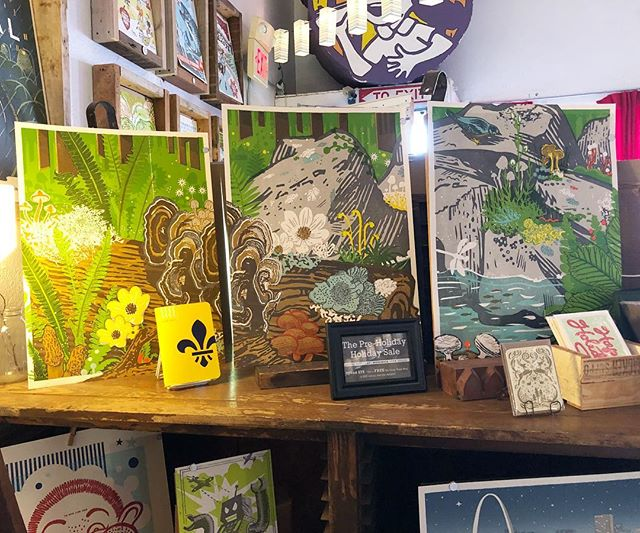 Hey Shop Trail friends! Today's the day to go to @firecrackerpress. Spend $75 with them and you get a free Shop Trail poster. They're open until 5!