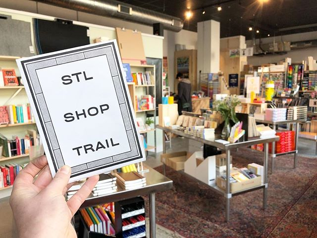 Congrats to @stlartsupply on your new space— It is a beaut! One of our fave things about the Shop Trail is that the online guide is easy to change. As businesses open, close, and move around town, we can keep our info accurate.