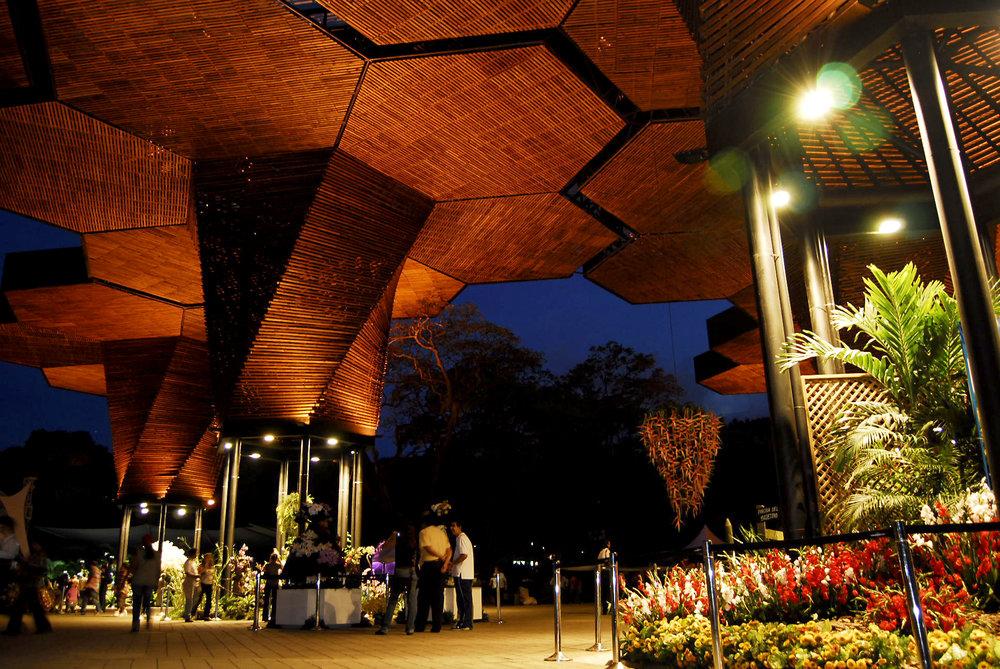Orquideorama, no Jardim Botânico. Foto: Medellín Travel.