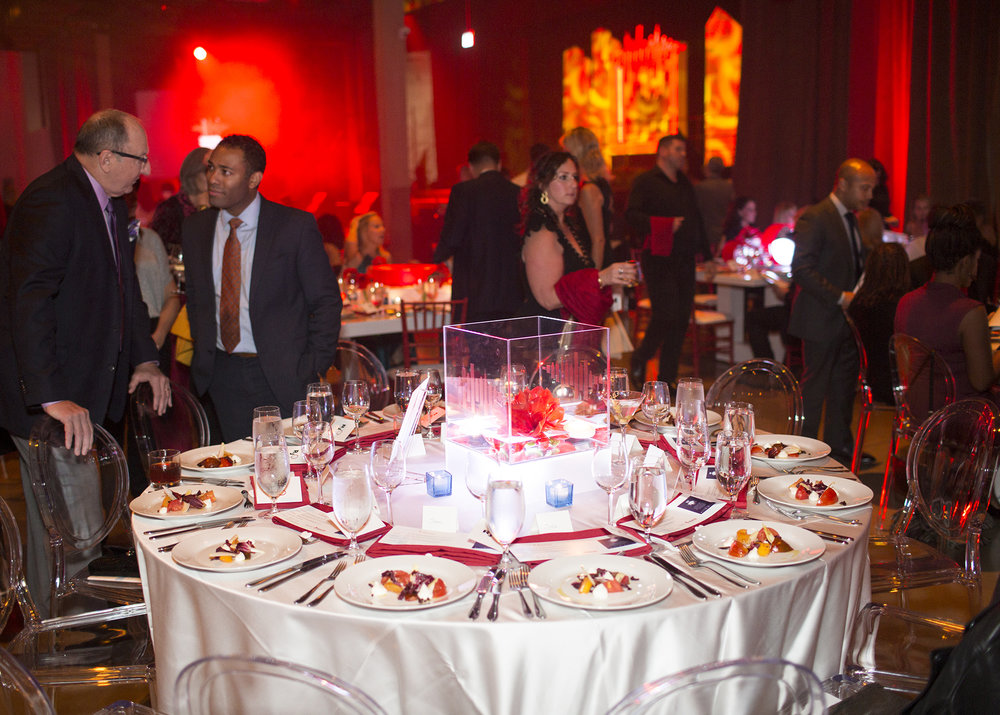 The place settings at RJO 2017. (Photo: Marcin Cymmer)