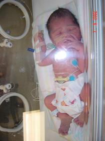 Elijah born 34 weeks -