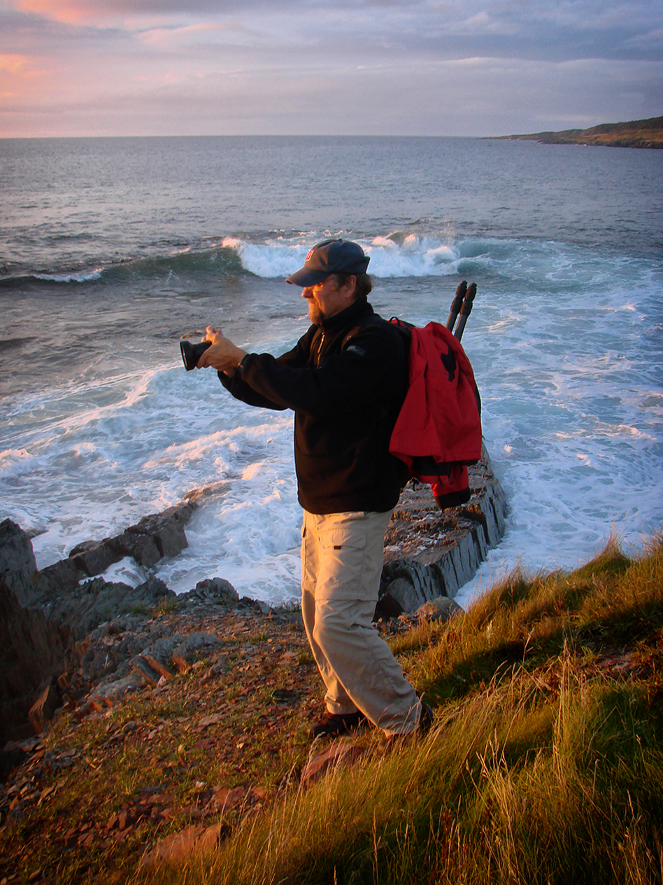 Richard Olsenius - On assignment for National Geographic in Newfoundland, Canada