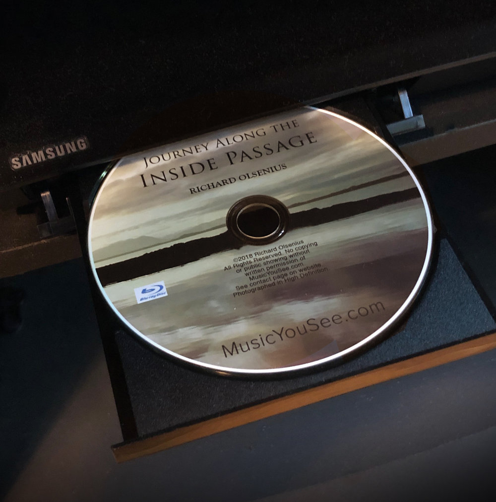 Inside Passage Blu-ray video in HD