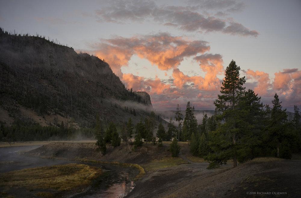 Madison River, Yellowstone National Park, ©2018 Richard Olsenius