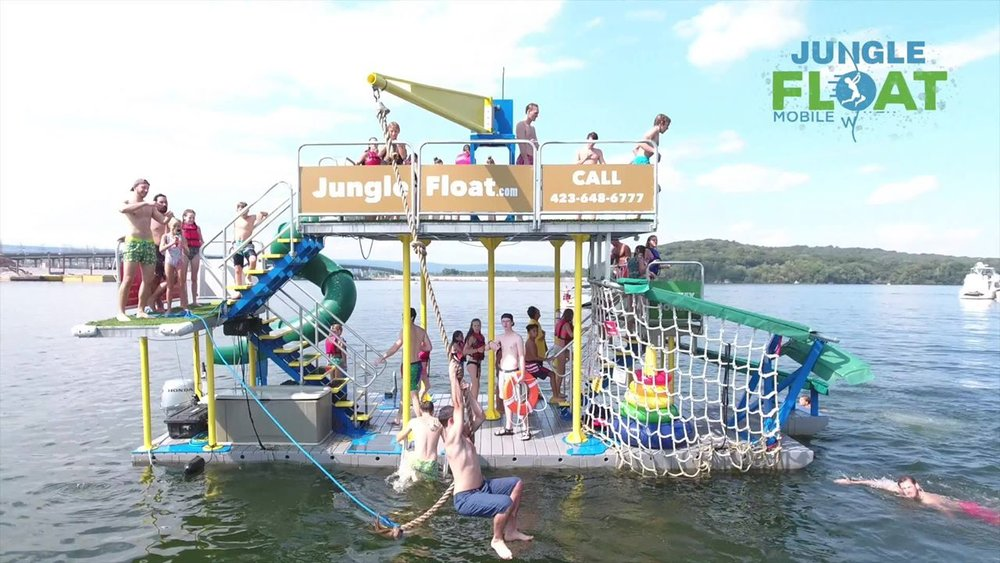 Jungle Float Chattanooga Open Play  Saturday, July 14th, from 11 - 6 @  Chickamauga Dam Day Use Area