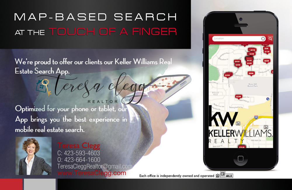 download my app teresa clegg chattanooga realtor