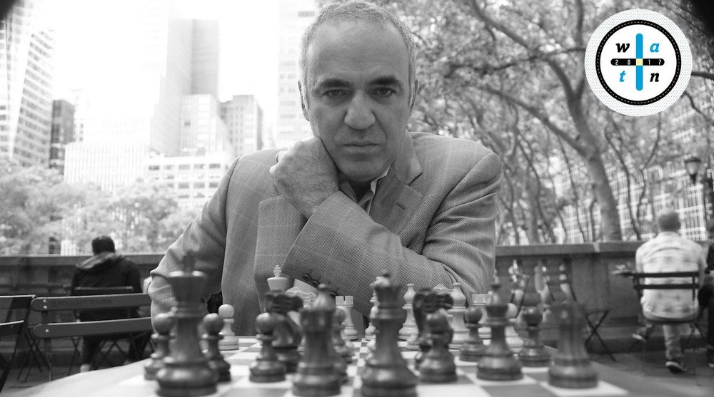 """ Can Garry Kasparov Stay a Move Ahead of Vladimir Putin? "" (SI, July 2017)"