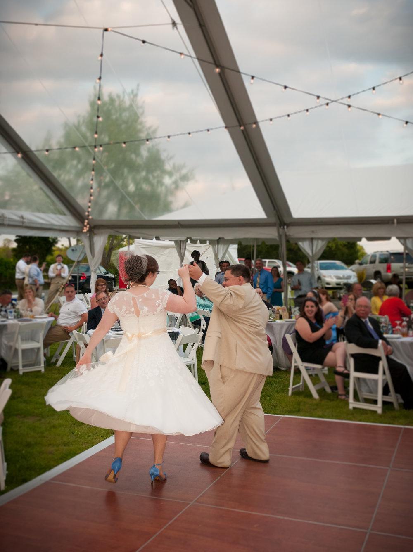 Our beautiful wedding photos were taken by  Trevor C. Davis .