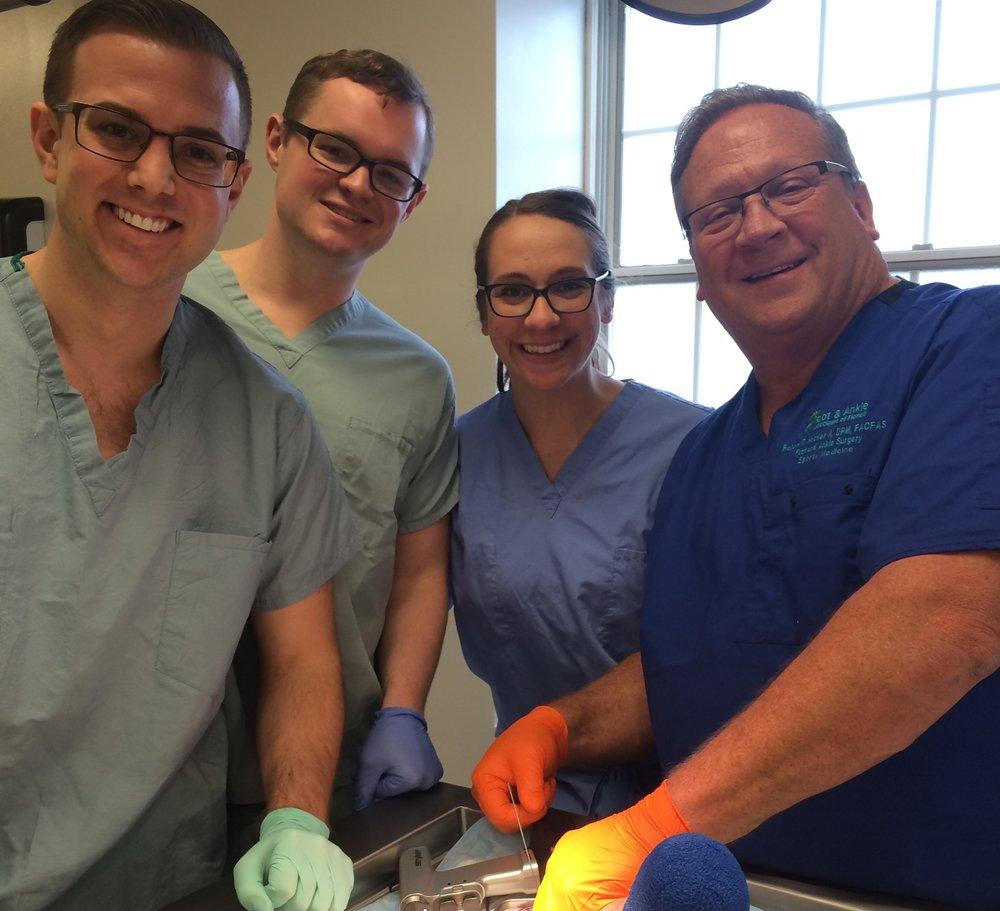 Senior Surgical Workshop (4/13/17)