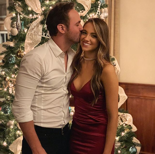 Love being this pretty girl's date to her work Christmas Party! Do you need a pretty smile? She can hook you up! #christmastree #firstpicturewithnewiphone