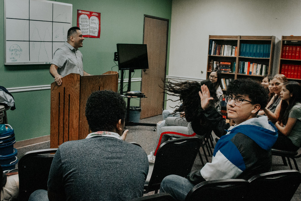 WHAT WE DO - During service, the youth meet for worship before breaking off into Jr. High and Sr. High groups to spend time in the Word, prayer, and fellowship. The ministry schedules monthly events for our youth that are geared toward fun and to challenge them spiritually.