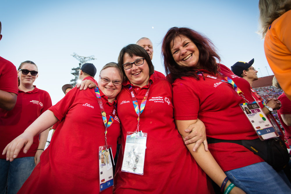Special Olympics, Los Angeles.