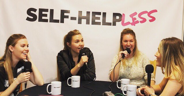 SELF-HELPLESS PODCAST - Comedians Taylor Tomlinson, Kelsey Cook, and Delanie Fischer grill Adrienne about Marijuana, psychedelics and living a minimalist lifestyle.